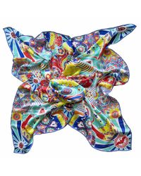 Furious Goose - Multicolor We Are All Going To Die Mexico Large Silk Scarf - Lyst