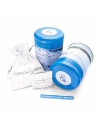 Anchor & Crew - Blue Paignton Silver & Rope Bracelet - Lyst