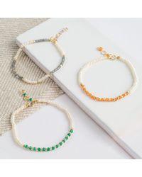 Auree Jewellery - Metallic Andaman Yellow Gold, Pearl & Labradorite Bracelet - Lyst