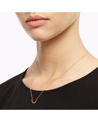 Myia Bonner - Metallic Gold Arc Necklace - Lyst