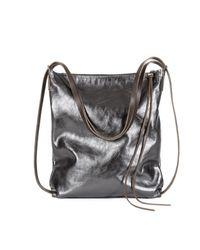 Ina Kent Multicolor Stroll Metallic Anthrazite Bag