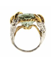 Tessa Metcalfe - Metallic Green Quartz Deborah Ring - Lyst