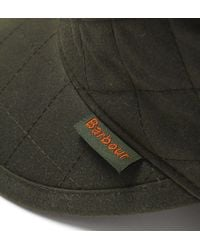 Barbour - Stanhope Olive Green Trapper Wax Hat for Men - Lyst