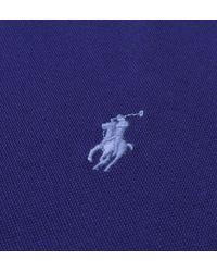 Polo Ralph Lauren - Royal Navy Blue Slim Fit Pique Polo Shirt for Men - Lyst