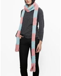 Wool And The Gang | Pink Giles Stripy Scarface | Lyst