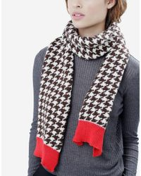 Wool And The Gang | White Hounds Of Love Scarf | Lyst