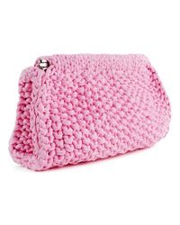 Wool And The Gang | Pink Hey Now Clutch | Lyst