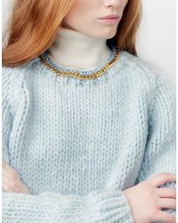 Wool And The Gang | Blue In Chains Sweater | Lyst