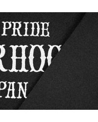 Neighborhood Black Embroidered Logo Crewneck Sweatshirt for men