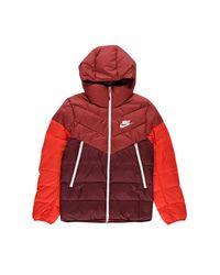 Nike Red Women's Down Fill Windrunner