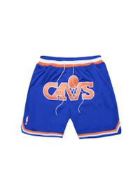 Just Don - Blue Cavs Shorts for Men - Lyst
