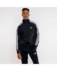 Adidas Black Firebird Track Jacket for men