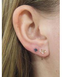 Melissa Joy Manning - Metallic Limited Edition Quartz Crystal Hug Hoop Earrings - Lyst