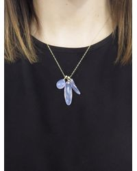 Ten Thousand Things - Blue One-of-a-kind Hand Cut Amethyst Fetish Necklace - Lyst