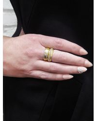Cathy Waterman - Multicolor Gold Band With Diamond Arrow - Lyst