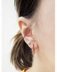 Sydney Evan - Multicolor Mini Enamel Evil Eye Single Stud Earring - Lyst