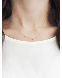 Wwake - Multicolor Blush Three-step Necklace - Lyst