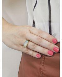 Andrea Fohrman - Metallic One-of-a-kind Oblong Opal Star Ring - Lyst