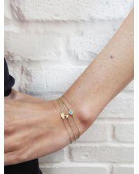Jennifer Meyer - Multicolor Turquoise Inlay Circle Bracelet - Lyst