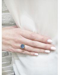 Irene Neuwirth - Multicolor One-of-a-kind Aquamarine Circle Ring - Lyst