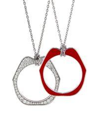 Raphaele Canot - Multicolor Omg Diamond Pendant Necklace - Lyst