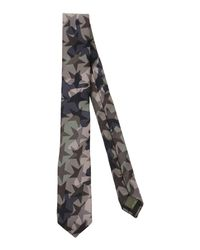Valentino Gray Tie for men