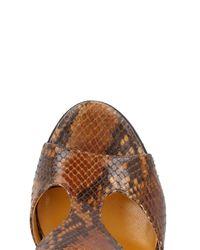 Atelier Mercadal Brown Sandals