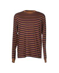 T-shirt Stussy pour homme en coloris Brown