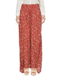 Denim & Supply Ralph Lauren - Red Casual Pants - Lyst
