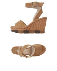 Paloma Barceló Natural Sandals
