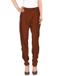 Plein Sud Brown Casual Trouser