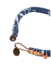 Bracelet Mikia pour homme en coloris Blue