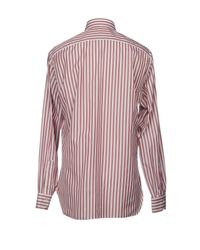 Isaia Multicolor Shirts for men