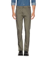 Low Brand Green Casual Trouser for men