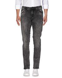Antony Morato - Black Denim Trousers for Men - Lyst