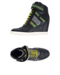 Hogan Rebel Black High-tops & Sneakers