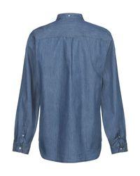 Camisa vaquera Lyle & Scott de hombre de color Blue