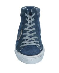 Philippe Model Blue High-tops & Sneakers for men