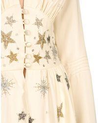 The Attico White 3/4 Length Dress