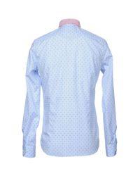 Harry & Sons - Blue Shirt for Men - Lyst