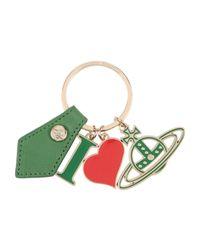 Vivienne Westwood - Green Key Ring - Lyst