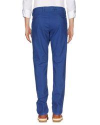 Massimo Rebecchi Blue Casual Pants for men