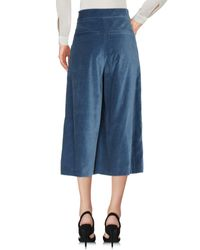 Pantalone capri di Ivories in Blue