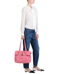 Patrizia Pepe   Pink Shoulder Bag   Lyst