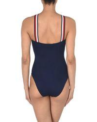 Tommy Hilfiger Blue One-piece Swimsuit