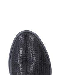 Giorgio Armani Black Lace-up Shoes for men