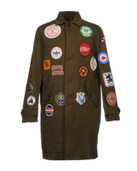 DSquared² - Green Overcoat for Men - Lyst