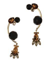 Marni   Metallic Earrings   Lyst