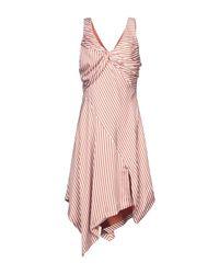 Vestito corto di Jonathan Simkhai in Pink