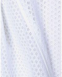 Nina Ricci White Knee Length Skirt